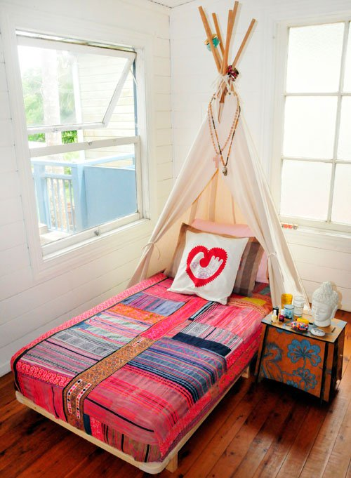 Bed tipi Headboard