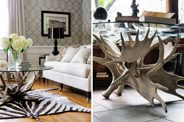 Antlers coffee table