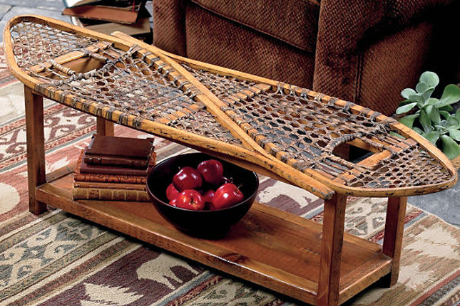Snowshoe Coffee Table Design
