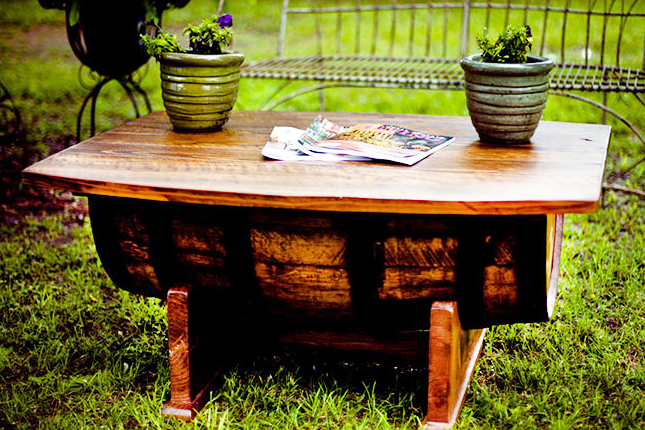 Whisky coffee table