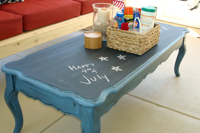 Chalkboard Coffee Table 22 Unique And Unusual Coffee Tables Home And Gardening Ideas