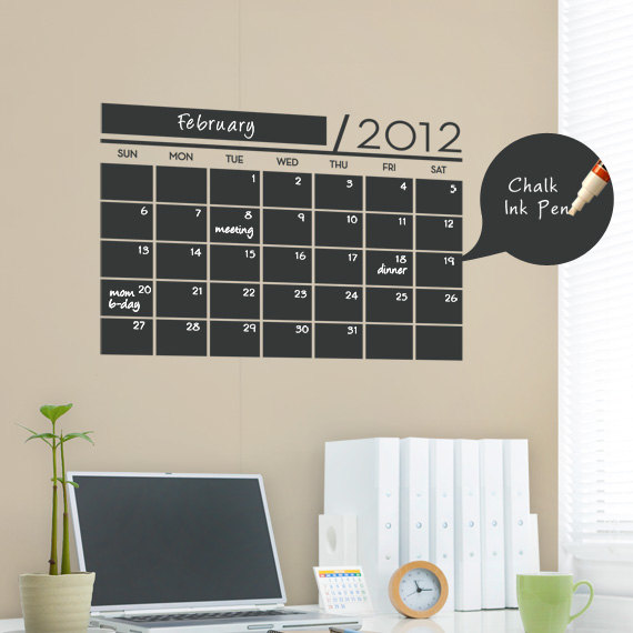 20 fun chalkboard paint ideas home and gardening ideas for Paint planner