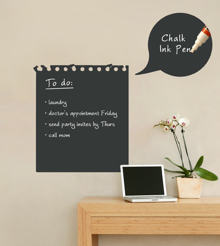 Memo Board using chalk paint