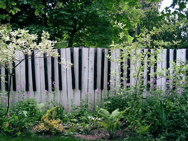 Piano Design Ideas Garden Fence Wood