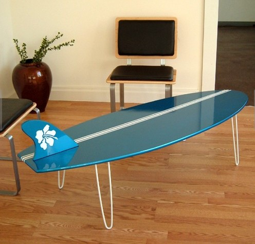 Superior Surfboard Coffee Table