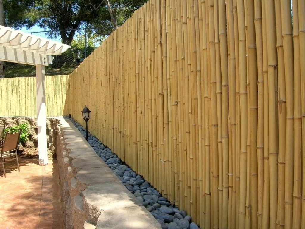 Garden Fencing Ideas 20 inexpensive fencing ideas for your garden The Bamboo Fence