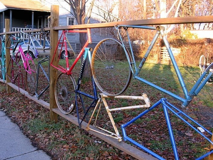 The Bicycle Fence