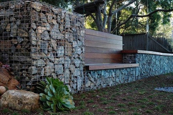 The Stone Barrier Fence