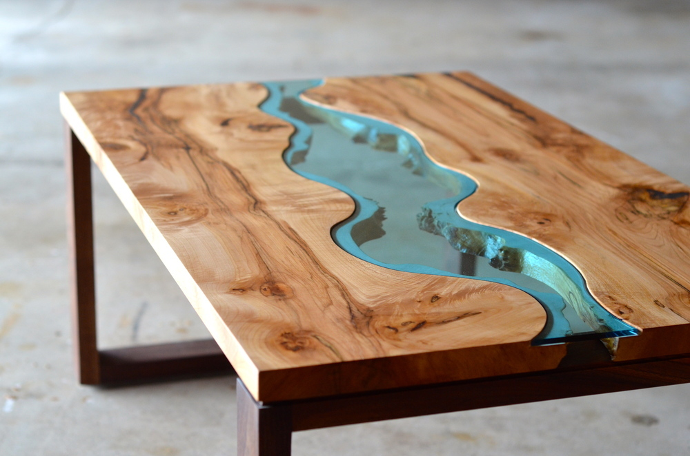 Unusual River Coffee Table Design