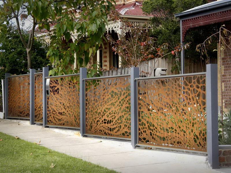 Front Garden Fence Designs Uk Container Gardening Ideas