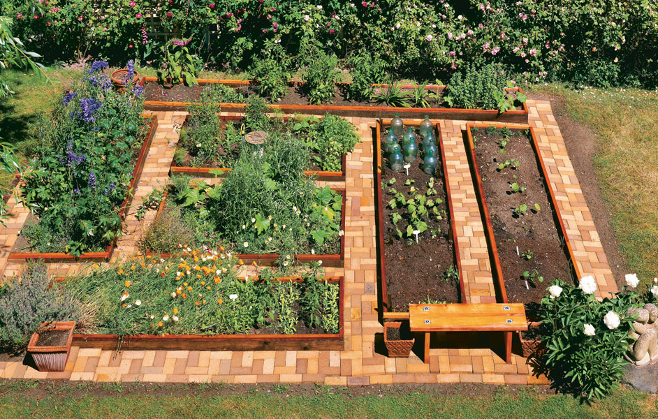 learn how to build a u shaped raised garden bed home design garden