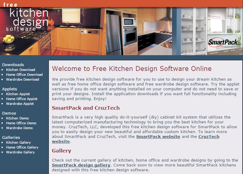 10 free kitchen design software to create an ideal kitchen for Warehouse layout design software