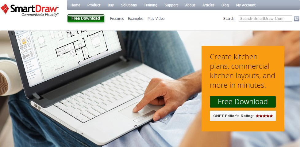 Smartdraw Kitchen Planner Software