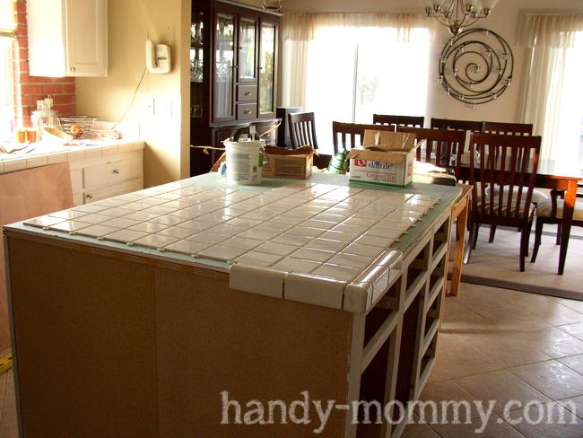 The Handy Mommy Kitchen Island