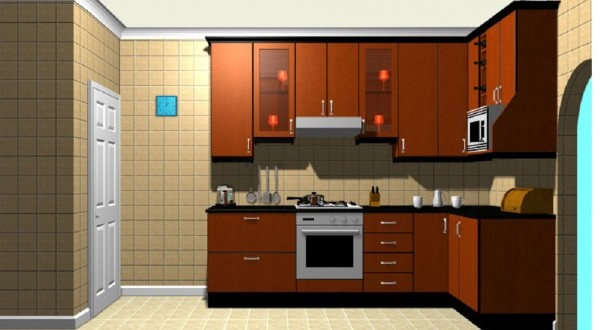 Free kitchen design software to create an ideal