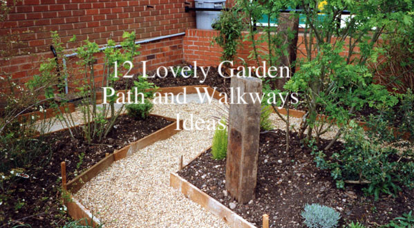 Backyard Pathway Ideas clever diy garden pathway ideas picture Garden Path Ideas