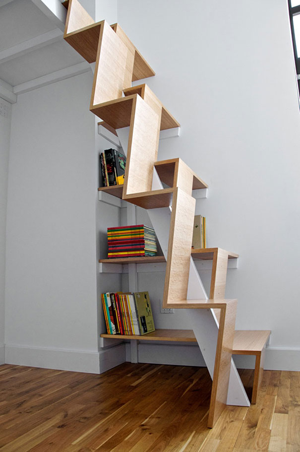 The Bookshelf Staircase