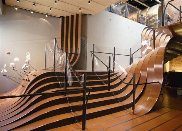 The High Tide Staircase