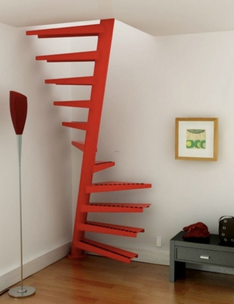 The Minimalist Spiral Staircase