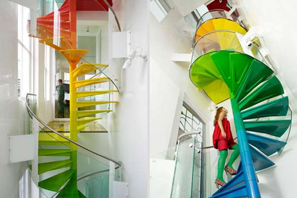 The Rainbow Spiral Staircase