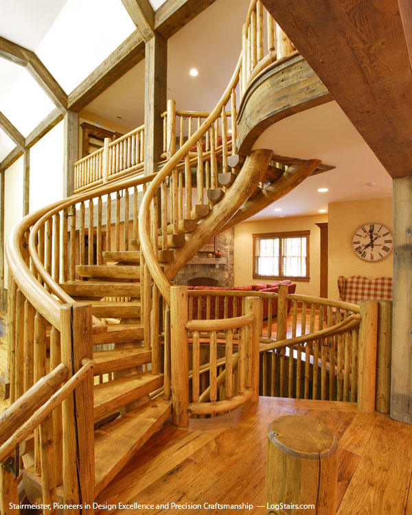 The Rustic Staircase