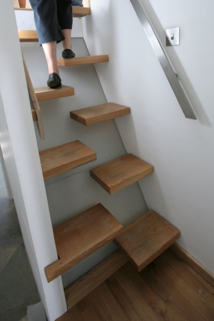 The Wall Block Staircase