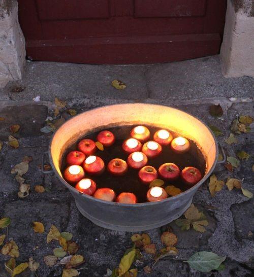 Apple Votive Candles