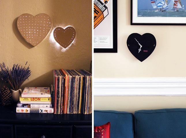 Battery Powered & Chalkboard Heart