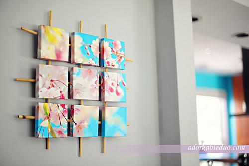 diy canvas wallart design wall art design ideas - Wall Art Design Ideas