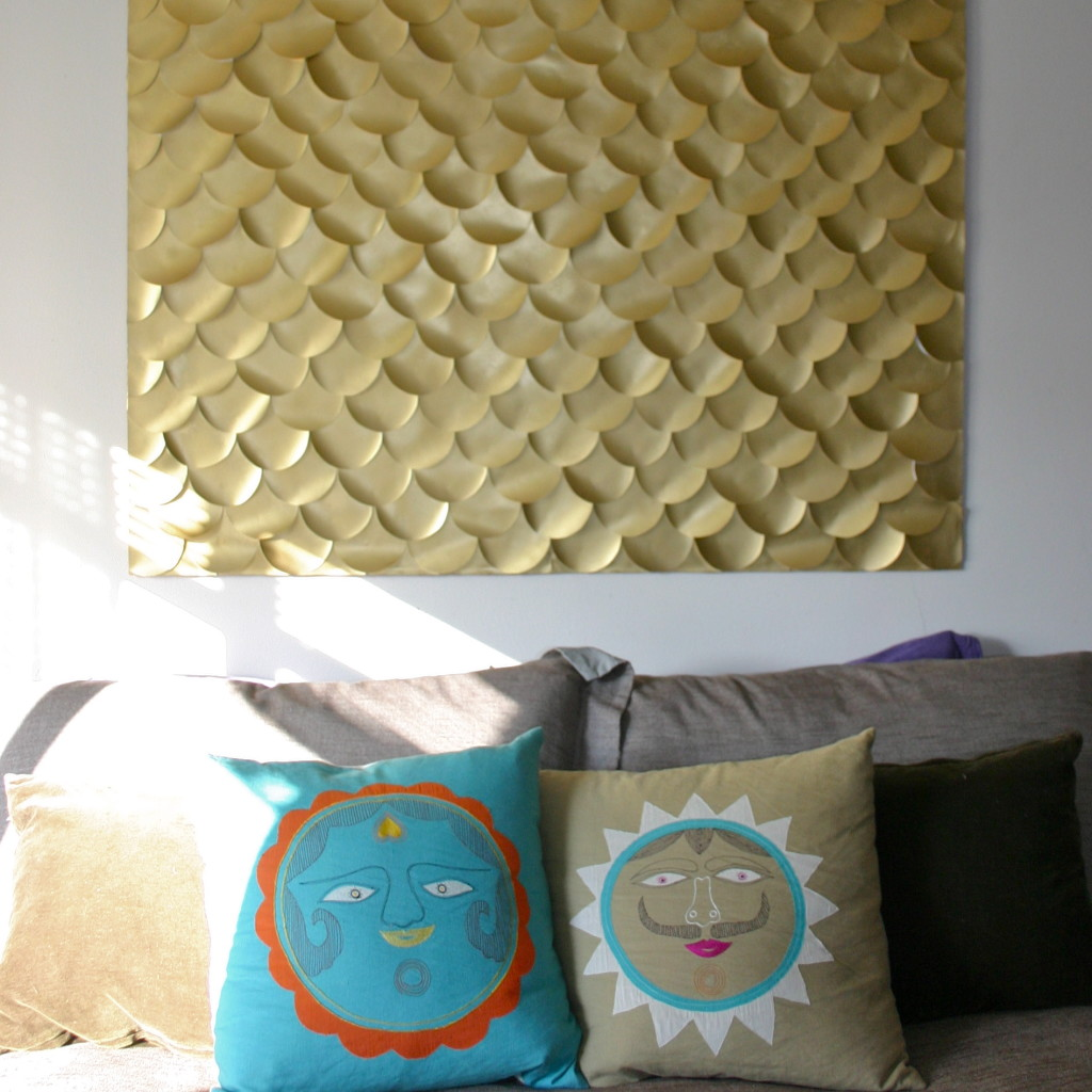 diy wall decor paper. DIY Fish Scale Wall Art 20 Fascinating Ideas To Decor Your Home  And