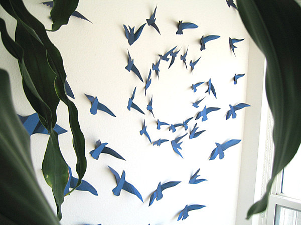 Wall Art 3 Line Of Birds : Fascinating wall art ideas to decor your home