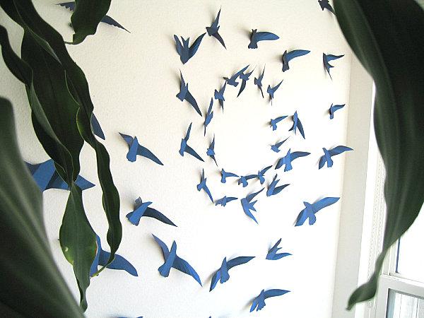 Paper Bird 3D Wall Art