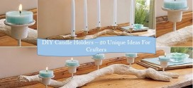 diy candle holder ideas