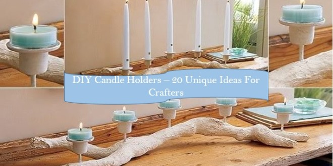 diy candle holder ideas - Diy Candle Holders