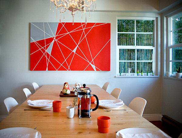 geometric Wall Art Design