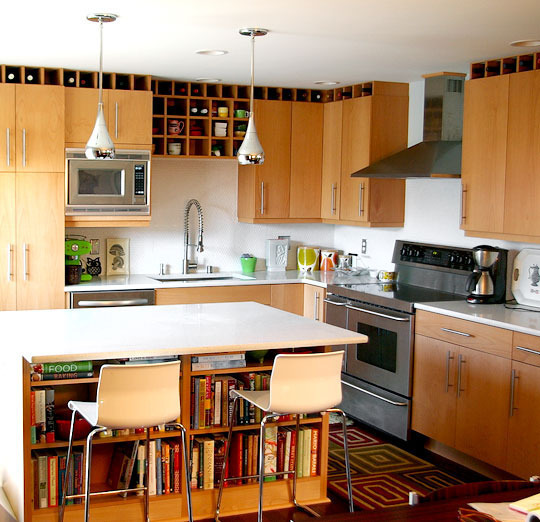 Space Above Kitchen Cabinets: Ideas For Small Kitchen Remodel On A Budget