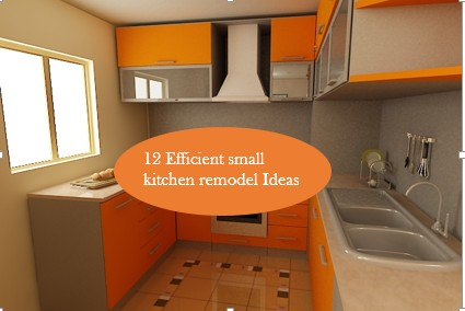 Renovate Small Kitchen 10 efficient ideas to remodel a small kitchen – home and gardening
