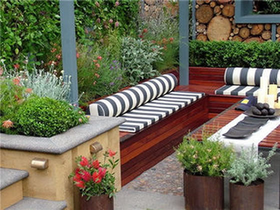 garden design with fabulous small patio ideas u home and gardening ideashome with wine barrel planters - Small Patio Design Ideas