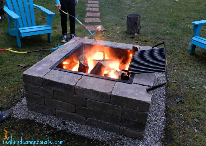 Amazing DIY Outdoor Fire Place