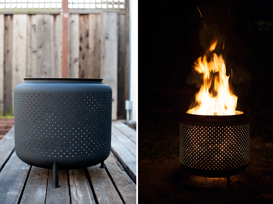 An Ingenious Outdoor Fire Pit
