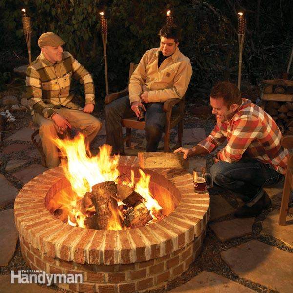 20 Stunning Diy Fire Pits You Can Build Easily Home And