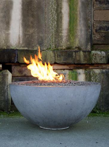 DIY Concrete Fire Pit Bowl