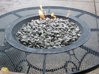 DIY Gas Fire Pit Idea