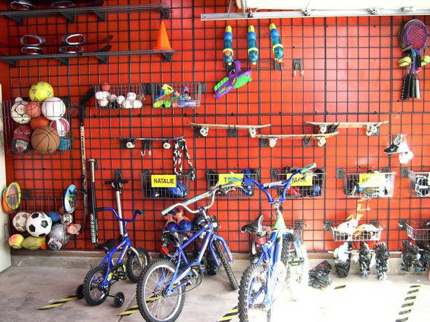 Garage Wall storage system