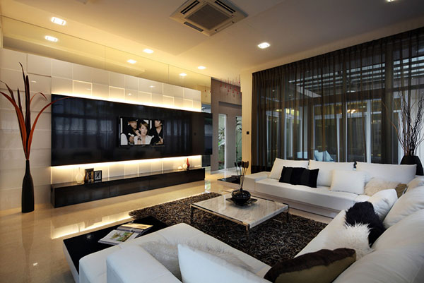modern classic interior - Ideas For Living Room Design