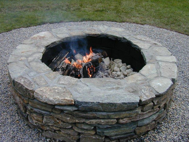 20 Stunning DIY Fire Pits You Can Build Easily - Home and ... on Building Your Own Outdoor Fireplace id=79420