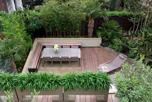 2 creative idea for small patio space - Small Patio Design Ideas
