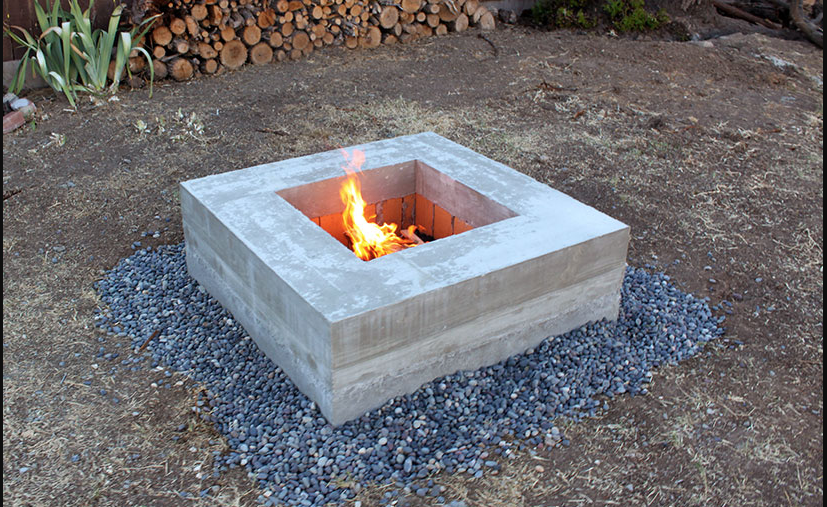 43 homemade fire pit you can build on a diy budget home for Flower fire pit