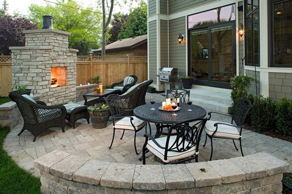 15 fabulous small patio ideas to make most of small space for Back garden patio ideas