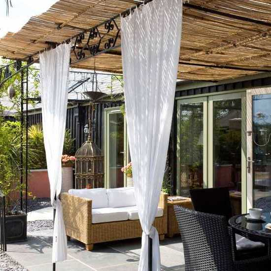 15 Fabulous Small Patio Ideas To Make Most Of Small Space ... on Diy Backyard Patio Ideas id=54364